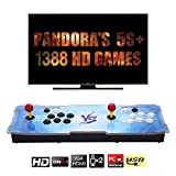 【Arcade Game Console 1388】 Pandora Box 5s 1388 Juegos Retro Consola Maquina recreativa Arcade Video Gamepad VGA/HDMI/USB