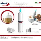 Cremafacile - Italienischer Milchaufschäumer, schnell und einfach (türkis)