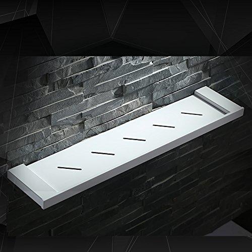 Rangement salle bains inox
