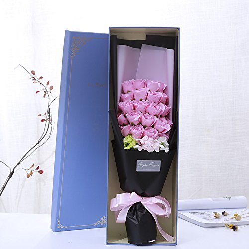 Regali Di Natale Romantici.Regali Di Natale Romantico Rose Sapone Confezione Regalo Regalo Di Compleanno Il Giorno Di San Valentino Dono