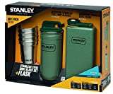 Stanley    Outdoor  Shot Glass and Flask Set available in Steel/Green - 236 ml