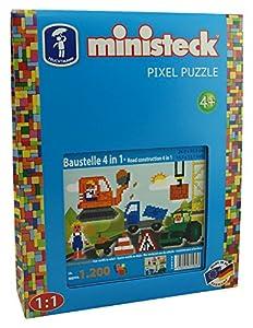 Ministeck Folie-Diseño de Interfaz 4en 1, steckplatte, Accesorios, Aprox. 1200de Piezas