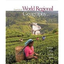 Essentials of World Regional Geography by Michael Bradshaw (2007-09-11)
