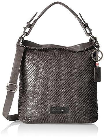 Fritzi aus Preussen Damen Aquata Business Tasche, Grau (Grey), 4x36x41 cm (Zwei Taschen Hobo)