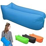 Aufblasbare Liege, tragbar Air Betten Schlafen Sofa Couch, für Reisen, Camping, Strand, Park, Backyard