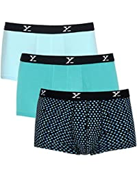 XYXX Men's Micro Modal Trunk (Pack of 3)