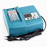 1.5A Ladegerät ersetzen für Makita DC18RC DC18RC Elektrowerkzeug Ladegerät passend für BL1815 BL1820 BL1830 BL1840 BL1850 BL1430 BL1440 BL1450 Batterien