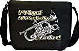 Cornet Played Perfectly Earlier - Sheet Music Document Bag Sacoche de Musique MusicaliTee