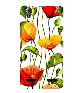 Flower Wallpaper 3D Hard Polycarbonate Designer Back Case Cover for Lenovo A6000 :: Lenovo A6000 Plus :: Lenovo A6000+