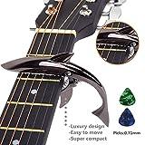 Capodastre en forme de requin en alliage de zinc pour guitare acoustique et...