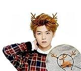 Unisexe Belle Mode Antlers Cheveux Hoop Bandeau Bandeau Cheveux Accessoires pour Noël Cosplay Fête Photographie