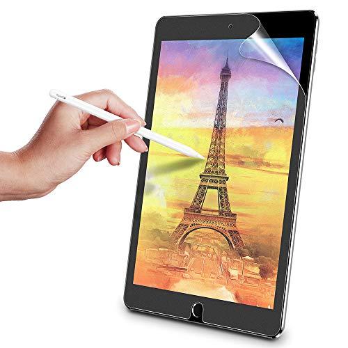 ESR Bildschirm Schutzfolie (2 Stück) Kompatibel mit iPad Air 3 2019 / iPad Pro 10,5 Zoll [Schreiben/Malen wie auf Papier] - Blendfreie Matte PET Folie mit Montageset