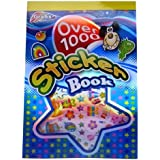 Mega Sticker Book - Over 1000 Stickers - Lots of Designs, Shapes & Messages - Size 290mm x 205mm