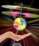 #9: Children Flying Toys, Flying RC Ball Infrared Induction Mini Aircraft Flashing-Assorted color