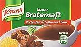 Knorr Klarer Bratensaft Soße Würfel, 5er-Pack (5 x 1 Liter)