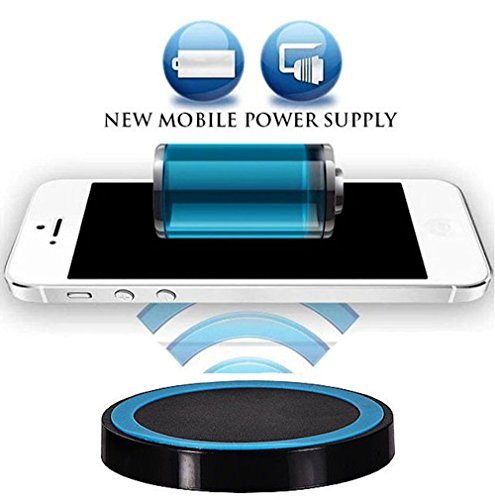 Wireless Ladegerät Induktive - Ladestation Qi Charger Samsung Galaxy S8 Active, Galaxy Note8, Apple iPhone X, iPhone 8, iPhone 8 Plus, Samsung Galaxy S8, Galaxy S8 Plus, Galaxy S3, Galaxy S5, Galaxy S6 Edge, Samsung Galaxy S6, Samsung Galaxy S7, Samsung Galaxy S7 Edge, Samsung Galaxy Note 5, ZTE Grand S, Sony Xperia Z3, Sony Xperia Z4, LG G5, LG Google Nexus 5, Google Nexus 5, Google Nexus 6, , Microsoft Lumia 950, Microsoft Lumia 950 XL, Motorola Moto 360 (Apple G5 Tastatur Bluetooth)