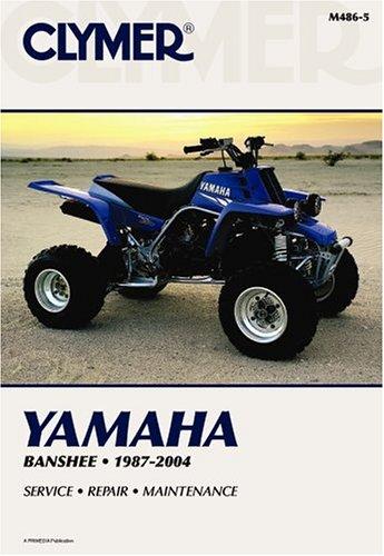 Yamaha Banshee YZF350 87-2004 ATV (Clymer Motorcycle Repair) por Primedia Business Directories & Books