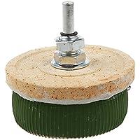 Reostato de resistencia 10 Ohm - SODIAL(R)50W 10 Ohm Potenciometro de ceramica Reostato de resistencia de pote de forma variable