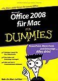 Office 2008 für Mac für Dummies