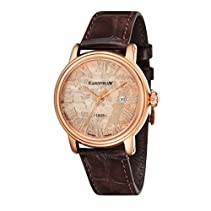 Thomas Earnshaw Limited Edition Swiss Made Men'Armbanduhr Analog Quarz Leder braun KL101 0026-03 ES -