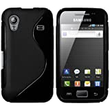 mumbi TPU powerGRIP Silikon Skin Case für Samsung Galaxy