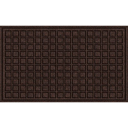 Textures Apache Mills Blocks Fußmatte Blöcke 18-Inch X 30-Inch walnuss -