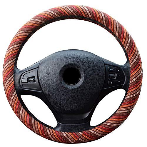 Afang coprivolanti-comfort universale tessuto di lino grezzo anti-scivolo inodore per camion auto suv,rosso