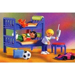 Playmobil 3964 la maison moderne chambre enfant - Playmobil chambre enfant ...