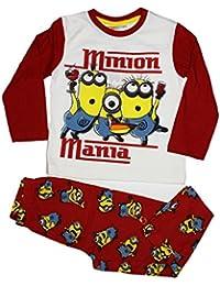 Minions Official Boys Long Pyjama Set Age 3/8Years