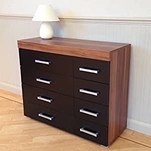 black walnut bedroom furniture 8 drawer kitchen