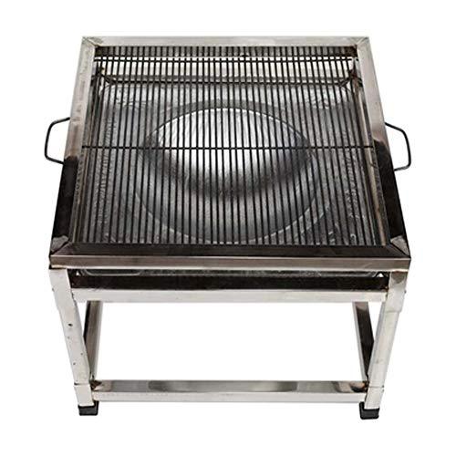 Parrilla de acero inoxidable al aire libre parrilla de mesa al aire...