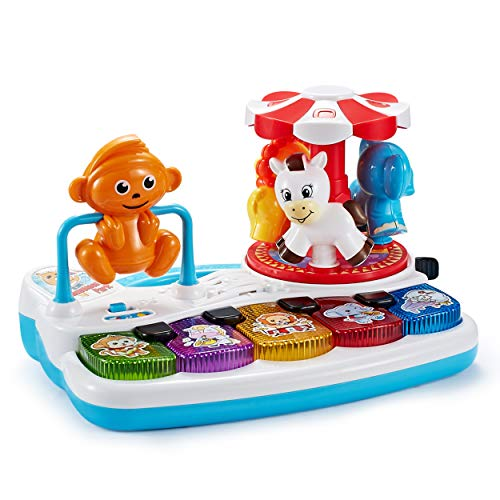 Think Gizmos Juguetes de Actividad para niños pequeños - Juguetes educativos interactivos para niños pequeños (Parque de Atracciones Interactivo)