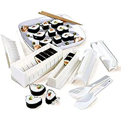 Vetrineinrete® Stampi per Sushi in Varie Forme Set 10 pz involtini Set aperitivo Giapponese Sushi Maker per Feste e Party P4