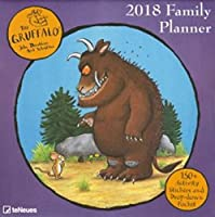 2018 Gruffalo Family Planner - teNeues Grid Calendar - 30 x 30 cm