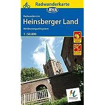 Radwanderkarte BVA Radwandern im Heinsberger Land 1:50.000, reiß- und wetterfest und mit GPS-Track-Download der ausgeschilderten Routen: Mit Knotenpunktsystem (Radwanderkarte 1:50.000)