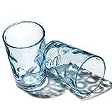 Pasabahce Wasser- und Saftglas türkisblau, 208 ml, 6er Set