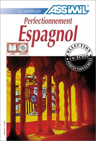Perfectionnement Espagnol (1 livre + coffret de 4 CD)