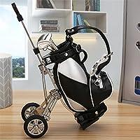 World 9.99 Mall Golf Geschenk, Mini Office Golf Pen Halter mit 3 Sets Aluminium Alloy Golf Stifte