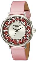 Stuhrling Original Damen-Armbanduhr Vogue Analog Quarz 793.01