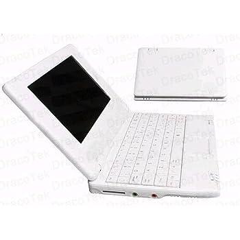 Soledpower® Nuevo (Android 4.2 - 512 MB de RAM, 4 GB de disco duro) Sólido Blanco / Negro ordenador portátil de 7 pulgadas Android Netbook PC, ...