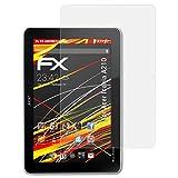atFolix Folie für Acer Iconia A210 Displayschutzfolie - 2 x FX-Antireflex-HD hochauflösende entspiegelnde Schutzfolie