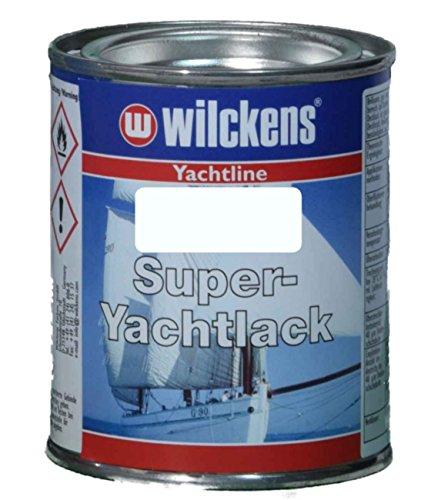 Wilckens Yachtline Super-Yachtlack 125ml, Farbe:RAL 9010 reinweiß (Malen Grundierung Außen)