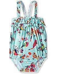 Hatley Baby-Mädchen Einteiler Ruffle Swimsuit