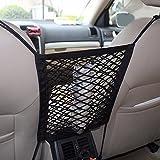 Universelle Netztasche zum Aufhängen zwischen den Autositzen, Aufbewahrungstasche für das Auto