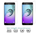 RTCO™ Tempered Glass (Buy One Get One Free Offer) 9H Hardness Full Screen Coverage Tempered Glass Screen Protector For Samsung Galaxy A7 2016 (A710)