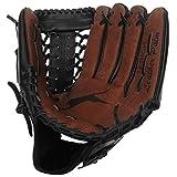 Slazenger Unisex Leder Baseball Handschuh Gepolstert Braun 12inch