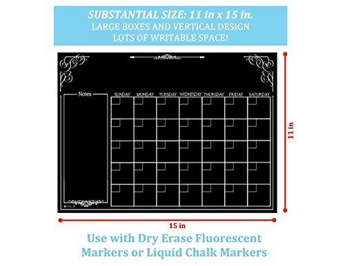 Zoom IMG-3 calendario magnetico stile lavagna frigorifero