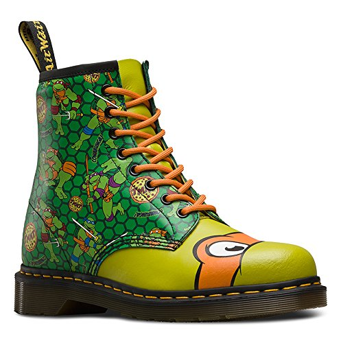Dr.Martens Womens Mikey 1460 8-Eyelet Leather Boots Vert