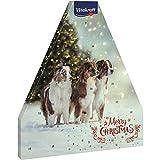 Image of Vitakraft Adventskalender für Hunde, Mit 8 verschiedenen Snacksorten, Weihnachtliches Motiv mit Hunden