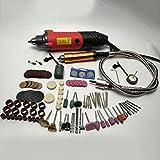 Mini Elektroschleifer 240 W Multifunktionswerkzeug für Bauprojekte von Dremel rund ums Haus - Rot